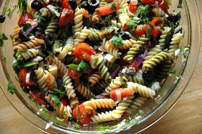 A Little Bit Of Spring – Pasta Salad