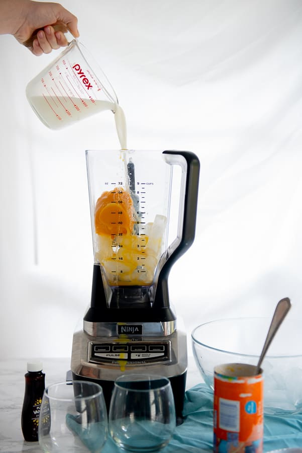 Add all ingredients to the blender