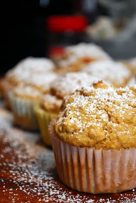 Butternut Squash and Pecan Muffins