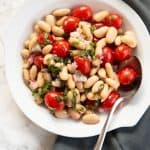 Tomato and White Bean Salad with Basil