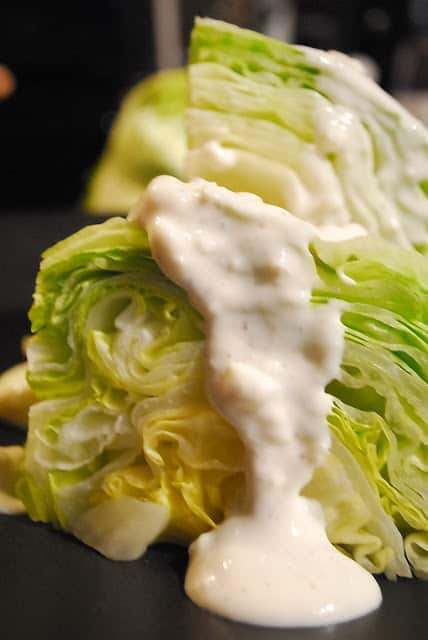 Homemade Yogurt Blue Cheese Dressing