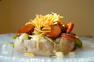 BBQ Stuffed Potato