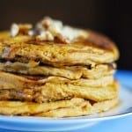 Easy Pumpkin Pie Pancakes
