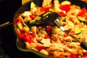 Easy Chicken Risotto with Zucchini