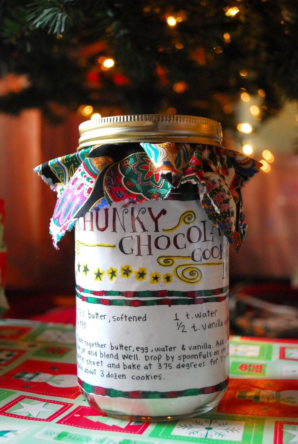 Last Minute Gift – Chunky Chocolate Cookie Mix
