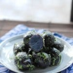 Purple Parsley Potatoes