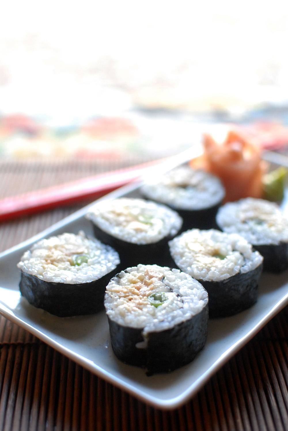 Tuna Tuesday: Wasabi Tuna Sushi