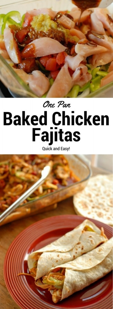My Thoughts On Food Magazines And Baked Chicken Fajitas
