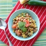 Spicy Black Eye Pea Salad
