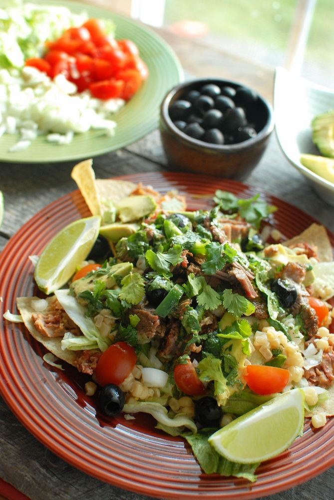 Tex Mex Tortilla Salad