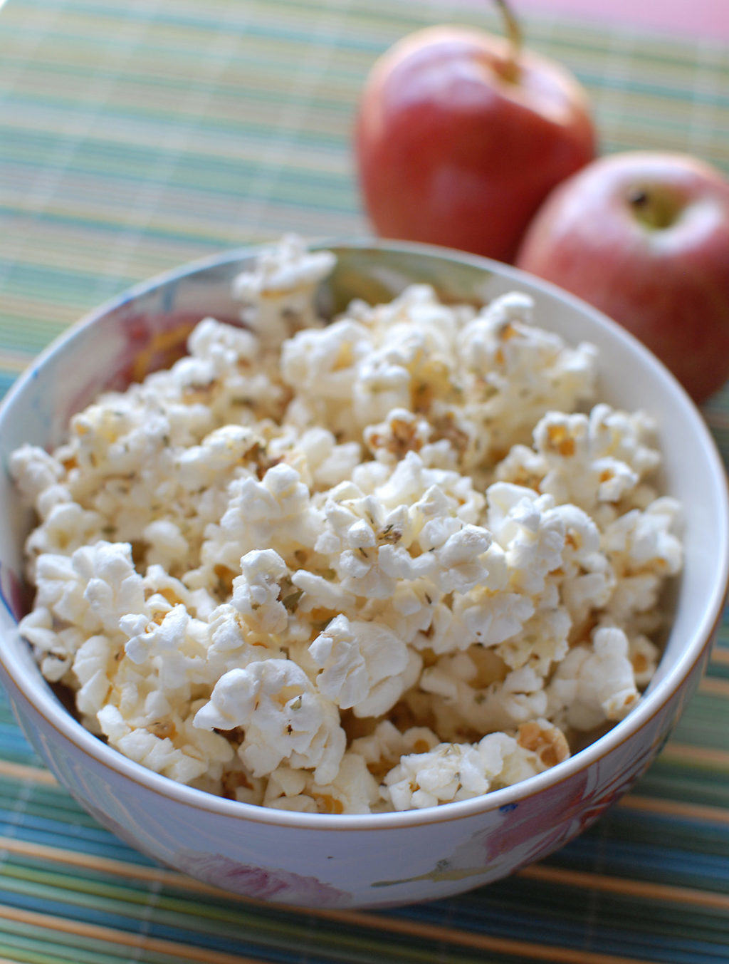 Parmesan Popcorn From EatinontheCheap.com