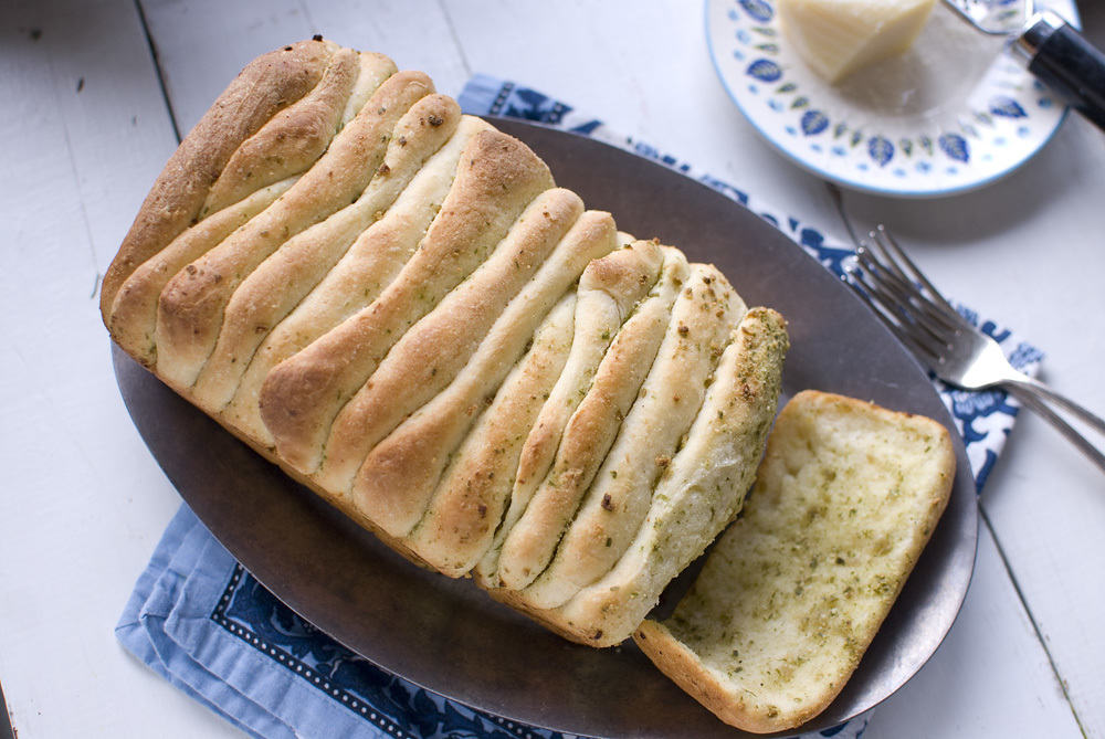 Italian Pull Apart Bread