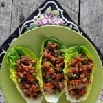 Chinese Beef Lettuce Cups