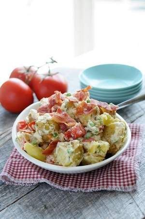 Summer Dill Potato Salad