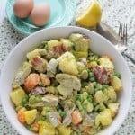 Spring Potato Salad with Homemade Mayo