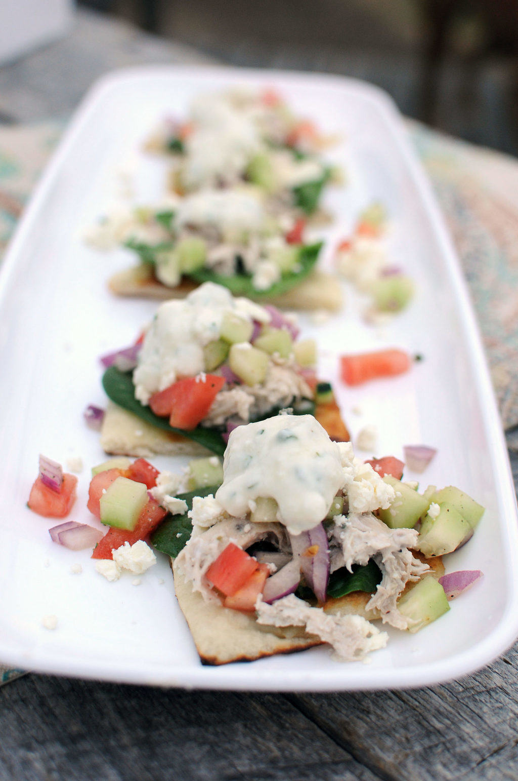 Mini Chicken Gyros