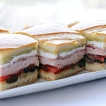 Italian Pressed Sandwich from EatinontheCheap.com