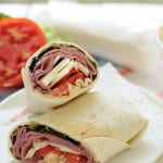 Chipotle Roast Beef Wrap from EatinontheCheap.com