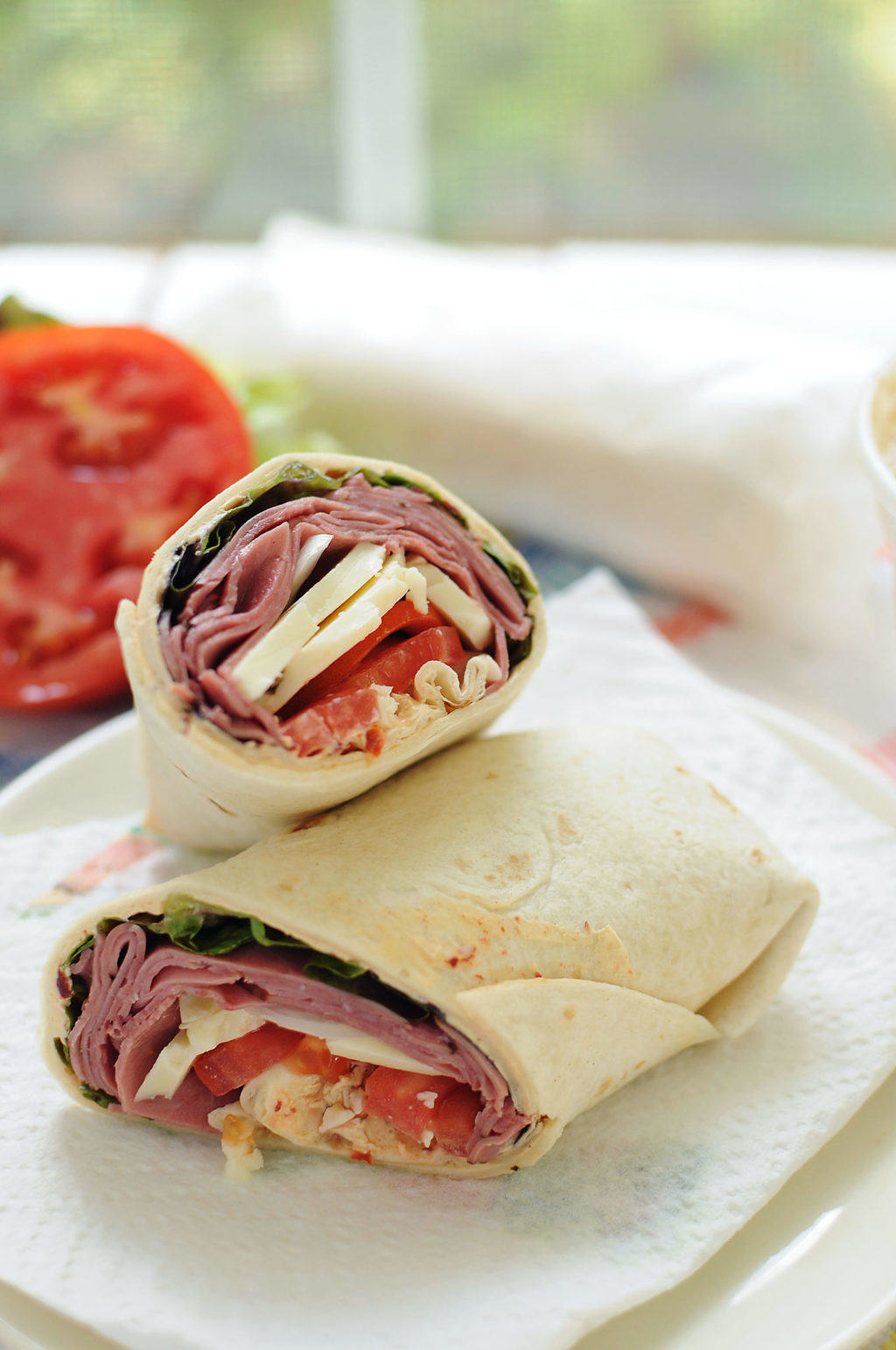 Chipotle Roast Beef Wrap