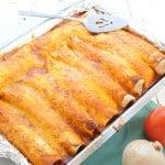 Chicken Enchiladas from EatinontheCheap.com