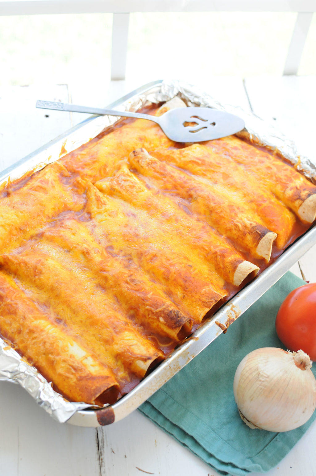 Chicken Enchiladas From EatinontheCheap.com