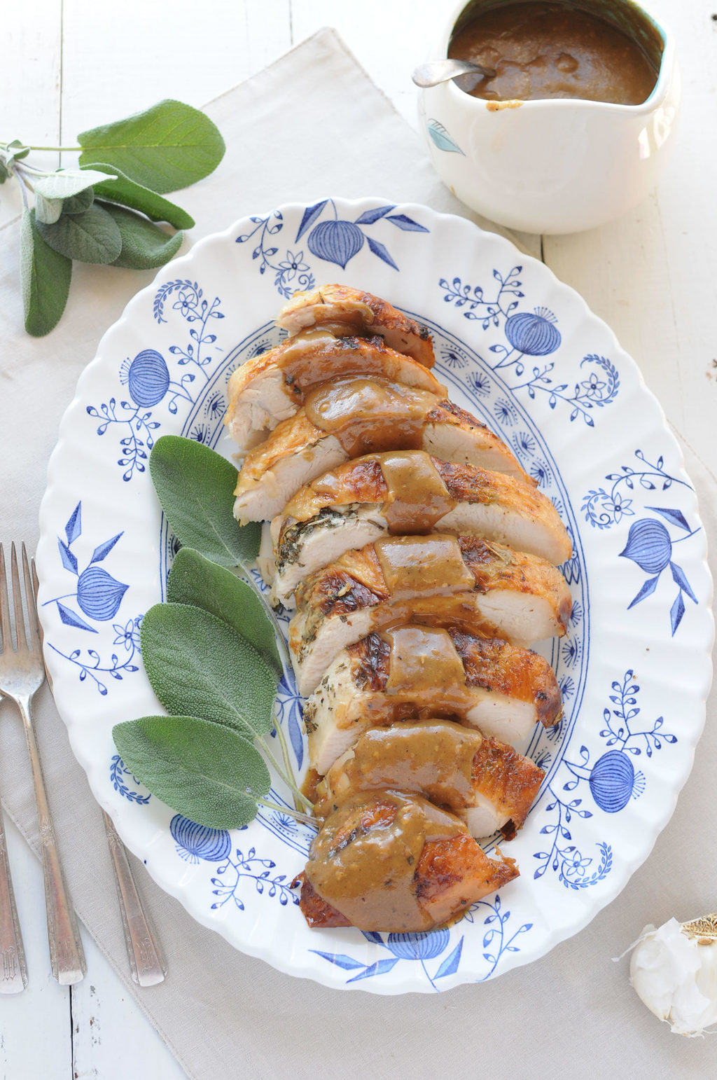 Sage Roasted Turkey Breast