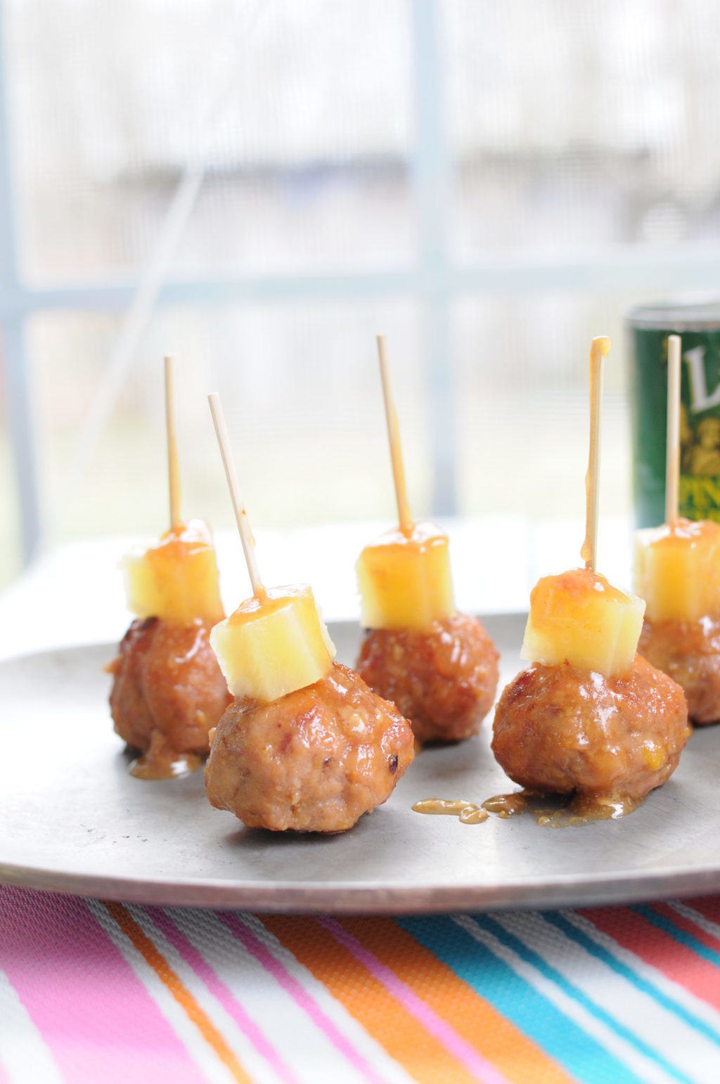 Gloriously Retro Pineapple Ham Balls