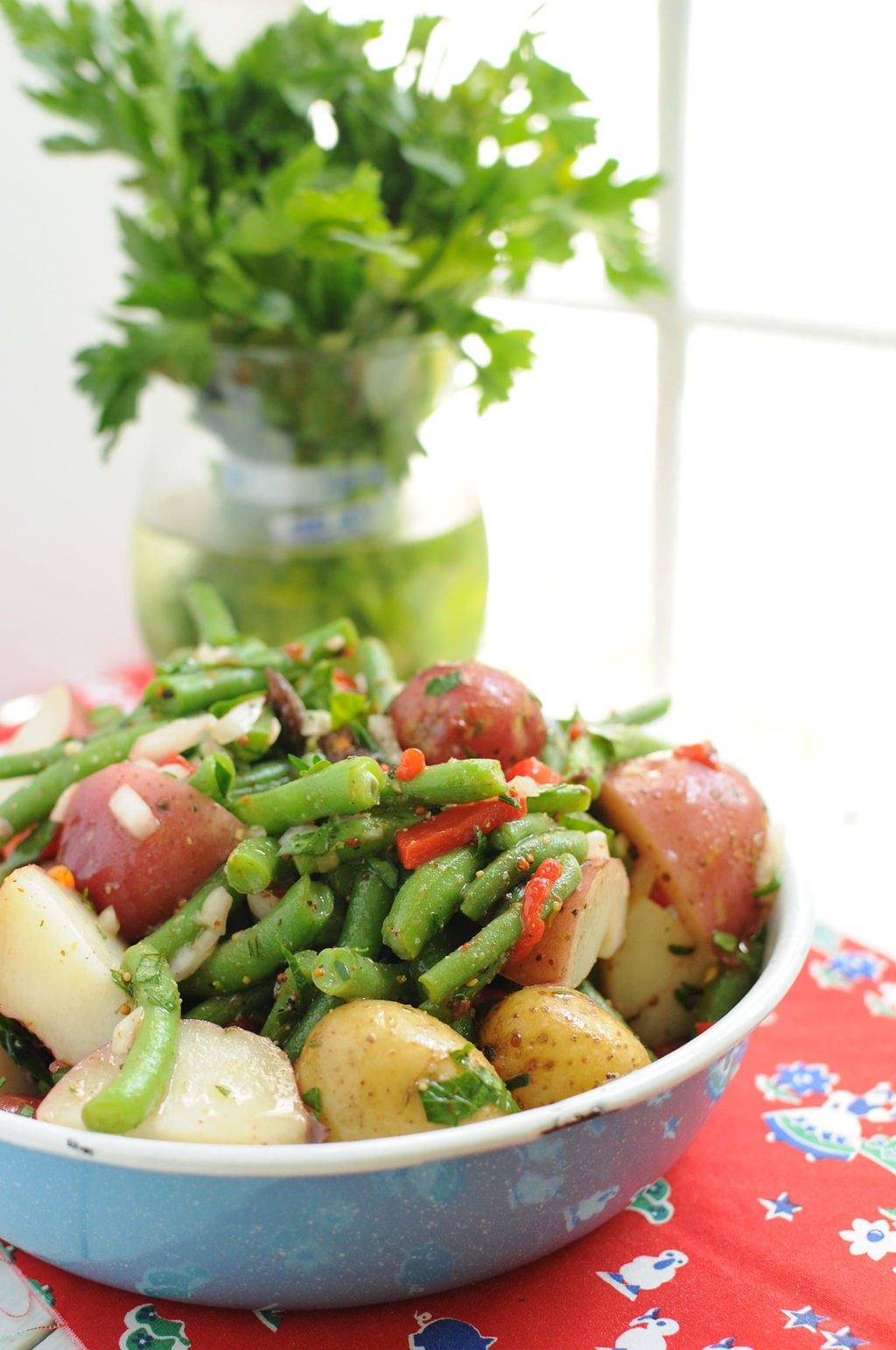 Green Bean And New Potato Salad