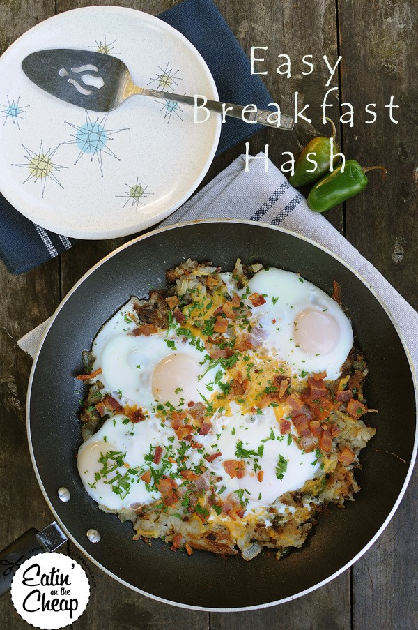Breakfast Hash from Eatinonthecheap.com