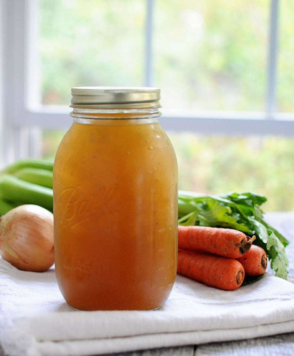 Crock Pot Double Chicken Stock