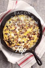 Bacon Cheddar Hashbrown Flip