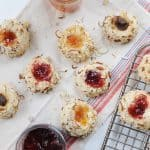 Almond & Jam Thumbprint Cookies