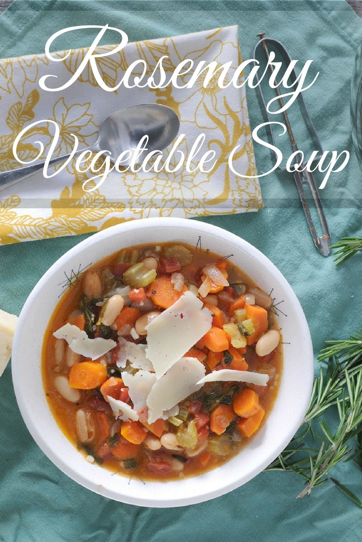 Rosemary Vegetable Soup