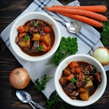 Best Ever Slow Cooker Beef Stew