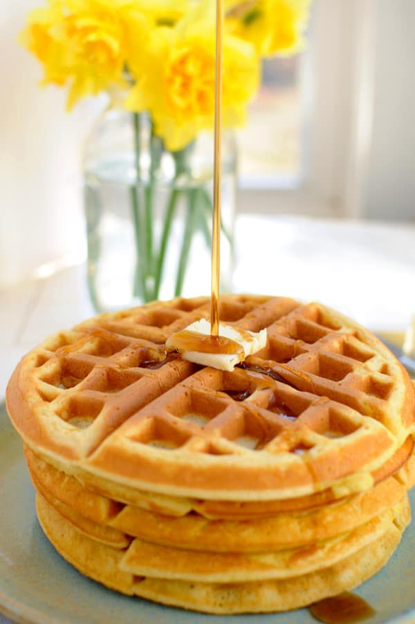 Homemade Weekend Waffles