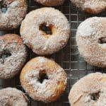 Quick Cinnamon Cake Doughnuts