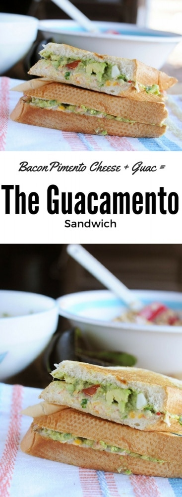 Bacon Pimento Cheese + Guacamole = Guacamento