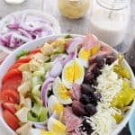 Big Italian Cobb Salad - Just like a Pizzeria Salad!