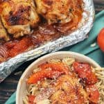 Sheet Pan Paprika Chicken and Tomatoes