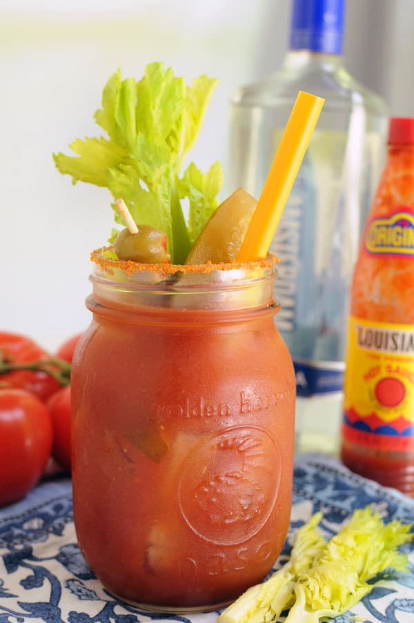 The Best Bloody Mary Mix