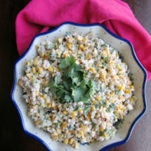 Mexican Street Corn Salad Bowl