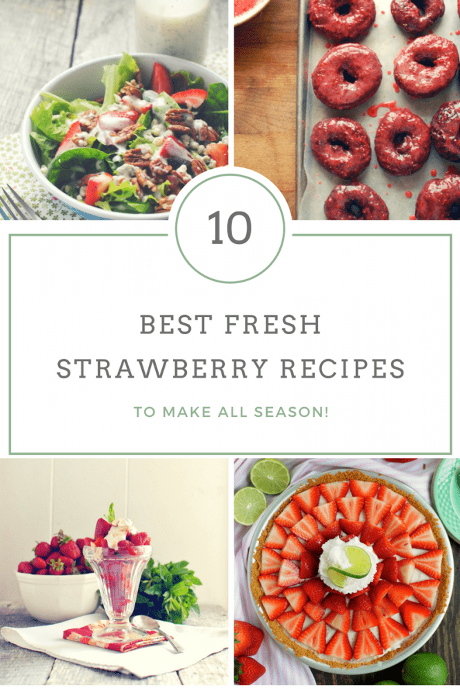 10 Best Recipes For Strawberry Season