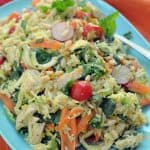 Summer Chicken and Rice Salad