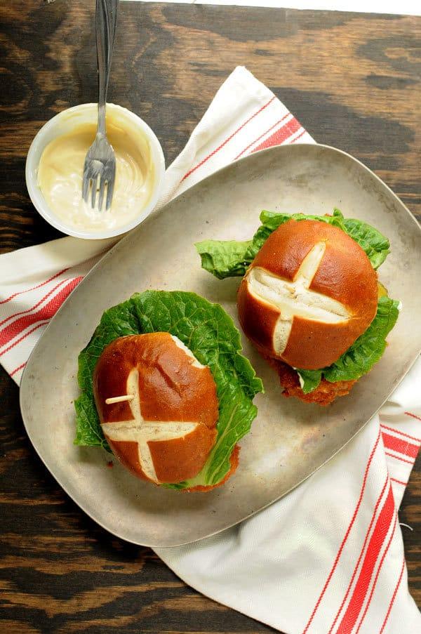 Extra Crispy Pork Tenderloin Sandwich