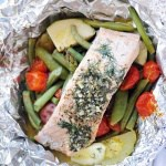 Easy DIY Foil Packet Salmon Dinner