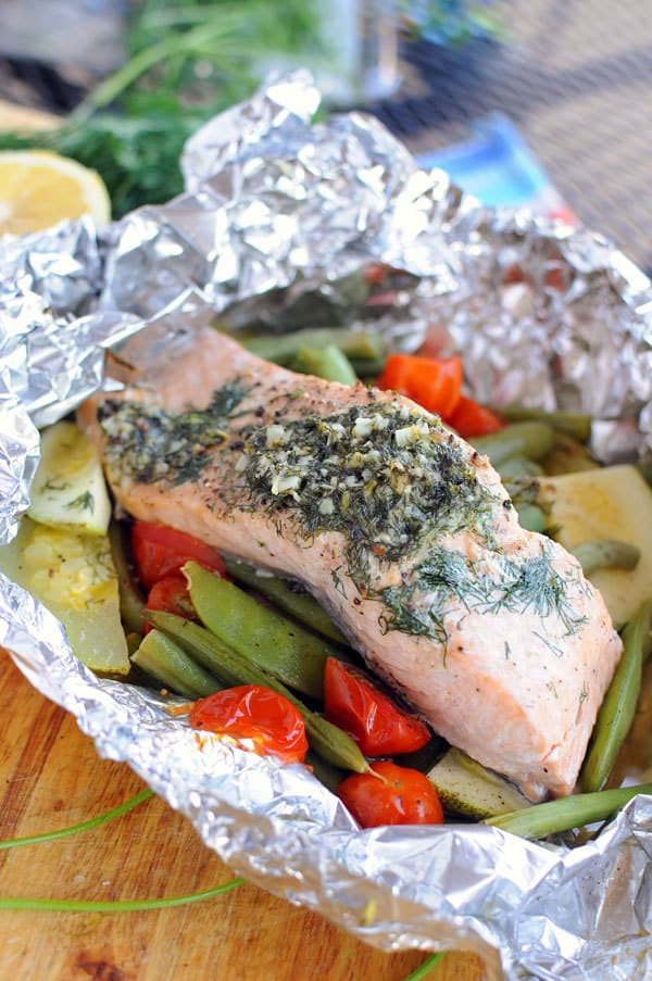 Easy Foil Packet Dinner