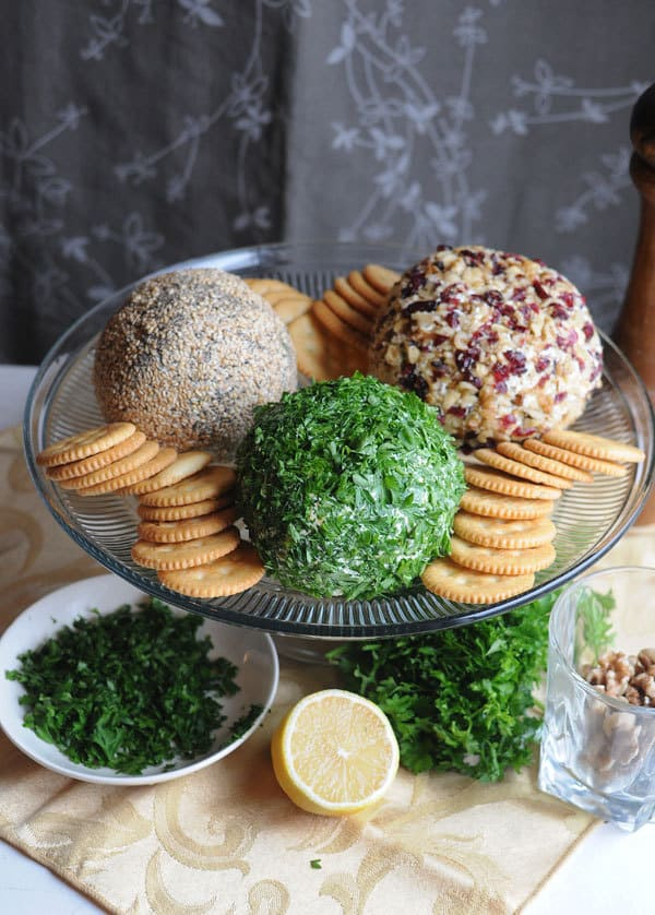 Last Minute Cheese Balls Three Ways