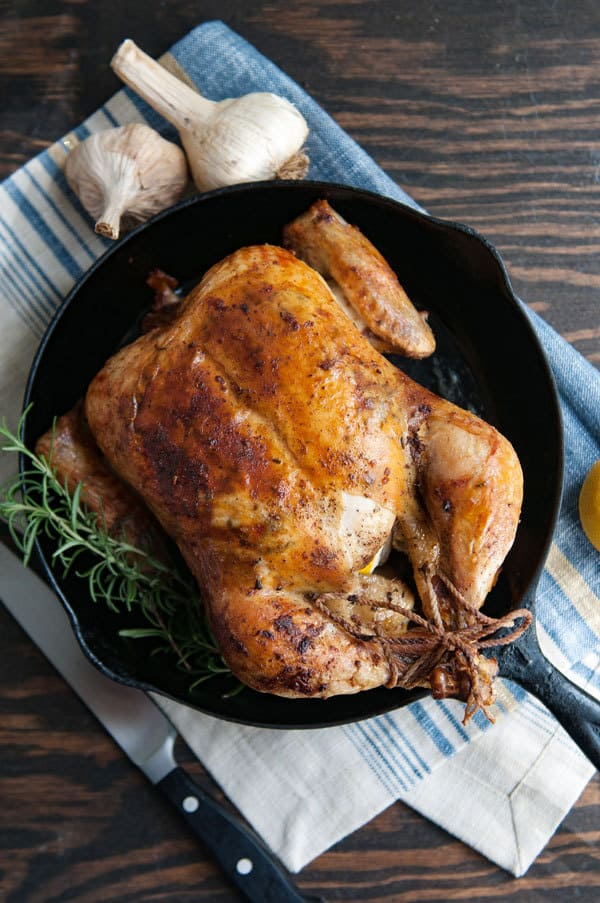 Garlic and Rosemary Roasted Chicken