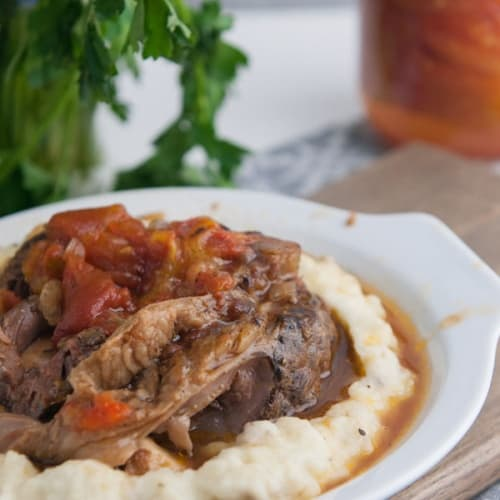 Italian Braised Beef Shanks Recipe