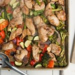 Easy Sheet Pan Chicken and Veggies Stir Fry